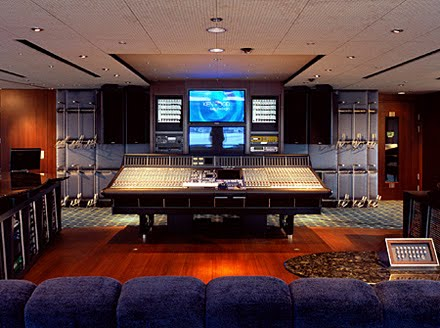Paul Allen recording studio Octopus Yacht